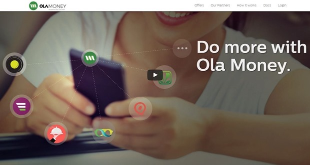 Ola MOney wallet