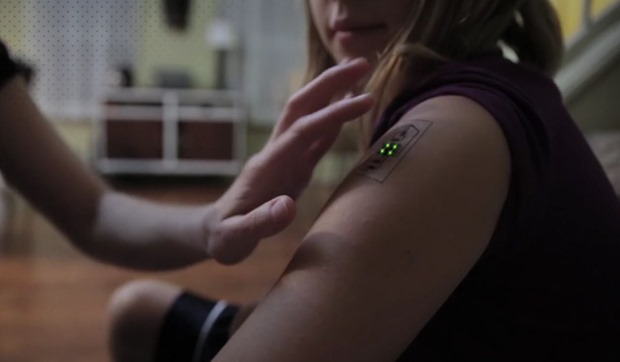 Now get a Temporary Tech Tattoo to Monitor Your Health