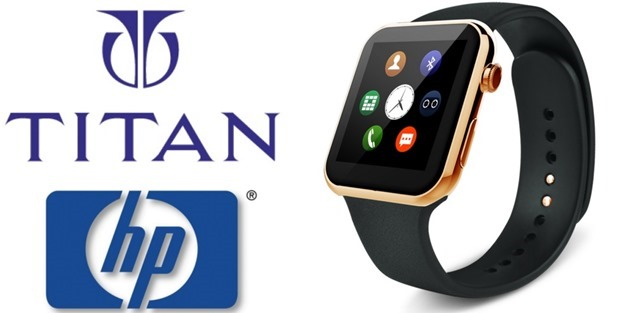 Titan Partners With HP to Develop Smart Watches