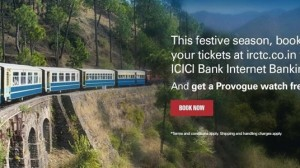 For The First Time IRCTC Train Tickets To Be Sold Via ICICI Bank Website; Mobile App