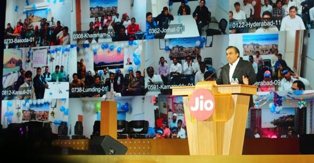 Reliance Jio Launch Mukesh Ambani