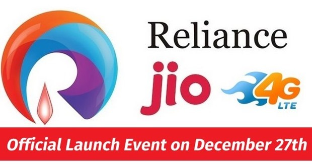 Reliance Jio Services Launch Dec