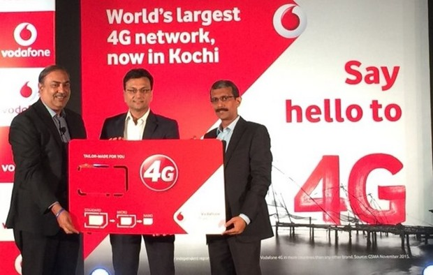Vodafone 4G services launch