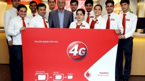 Vodafone Giving Out 4G Sim Cards to Existing Customers; Plans Full Roll-Out by March 2016