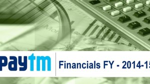Paytm Financials: One97's Revenue at INR 337 Cr, Loss at INR 372 Cr in FY 14-15