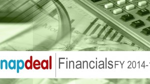 Snapdeal Financials FY 2014-15