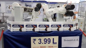 Tata to Unveil the First India-Made Robot 'Brabo' in 2 months #MakeinIndia