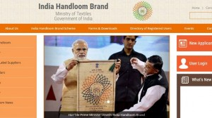 Govt Launches Dedicated Website For Indian Handloom Products