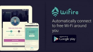 WiFire App Automatically Connects to Free Public WiFi Around You!