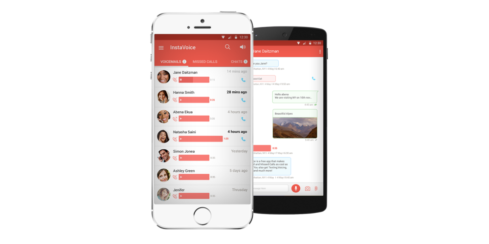 InstaVoice allows you to give missed calls to your friends for free!