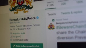 Bengaluru Police Get Twitter Dashboard to Track Real Time Tweets