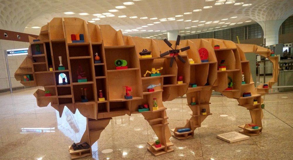 Make in India Tiger Mumbai Airport