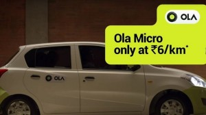Ola Claims Their 'Micro' Category Alone Has Beaten Entire Uber Fleet In India