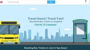Snapdeal Diversifies Further: Users Can Now Book Bus, Flight Tickets, Order Food!