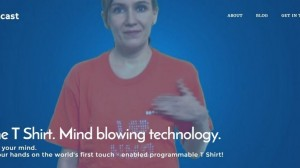 World's First Touch Enabled Programmable T-Shirt Has Been Designed By An Indian Startup, And It's Exciting