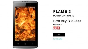 Reliance LYF Flame 3, Flame 4 VoLTE Smartphones Launched @ Rs 3,999!