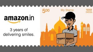 Wow! Amazon Gets its Own Postage Stamp from India Post