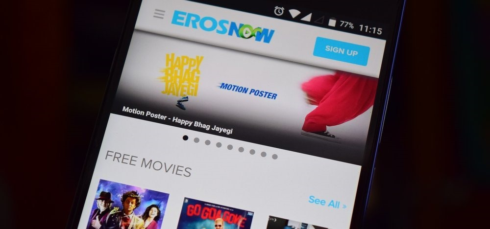 Eros Now Micromax Partnership