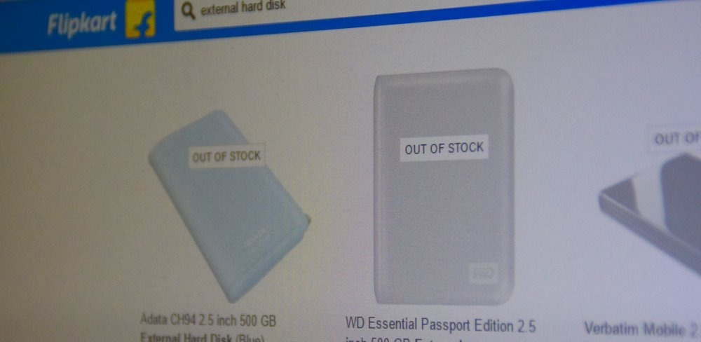 Flipkart Out of Stock SKU
