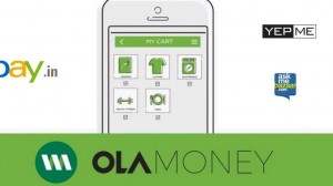 Now Shop on EBay, YepMe & AskmeBazaar with Ola Money!