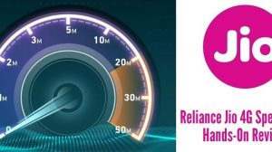 Reliance Jio 4G Mobile Data Speed Test [Hands-on Review]