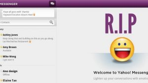 Death of a Legacy: Yahoo Messenger Would Breathe Its Last on August 5th