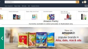 Amazon Launches Amazon Pantry Grocery Delivery Services in India