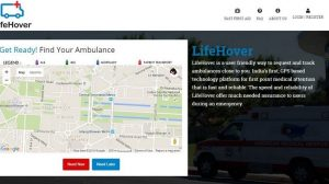 Forget Emergency Number, Now Use LifeHover to Request an Ambulance With a Single-Touch