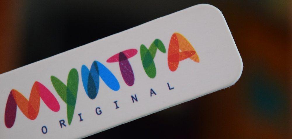Myntra Logo Offline Stores