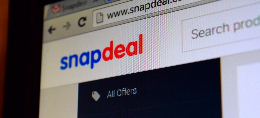 Snapdeal Homepage Snapshot Logo