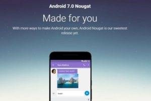 Google Officially Rolls out Android Nougat 7.0; Update to Nexus 6, 6P 5X, 9 & Android One Coming Soon