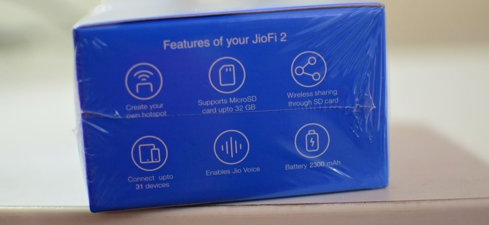 JioFi Features