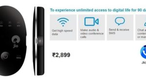 JioFi Router With Jio Preview Offer Available To All Starting Tomorrow