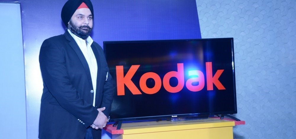 Kodak TV Launch India