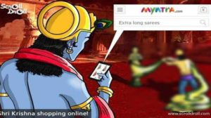Religious Hooliganism Humiliates Myntra For A Cartoon They Didn't Even Create; #BoycottMyntra Trends For Whole Day