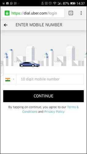 Now, Book A Uber Quickly Without a Mobile App!