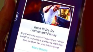 With Uber, You Can Now Book a Ride For Family & Friends
