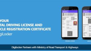 Now Carry Driving License & Registration Papers Digitally on Mobile Phones By Storing Them in DigiLocker App