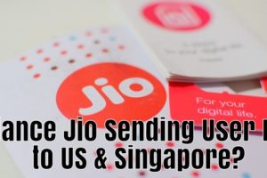 Reliance Jio Sending User Data in US & Singapore? Anonymous Offers Proof