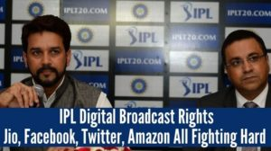Jio, Facebook, Twitter, Amazon All Fighting Hard To Win IPL Digital Broadcast Rights