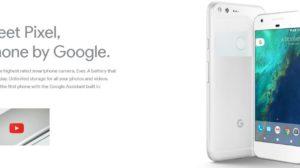 Google Launches Pixel and Pixel XL Smartphones; Pre-Bookings Start on Flipkart