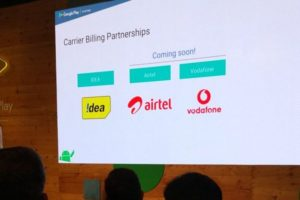 Google Extends Play Store Carrier Billing to Airtel & Vodafone Users in India!