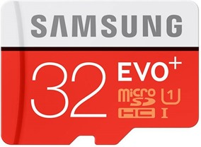 SAMSUNG Evo Plus 32GB Memory Card