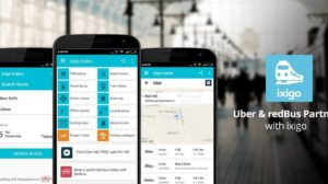 Now Instantly Book Uber and Redbus Through Ixigo Trains App