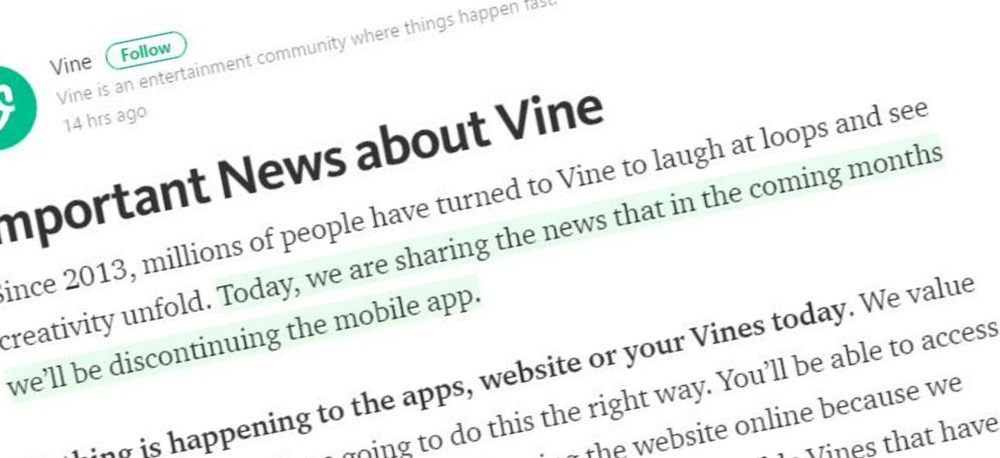 Short Video Sharing Platform Vine to Shut Down; Here's Why Twitter is Being Blamed for it