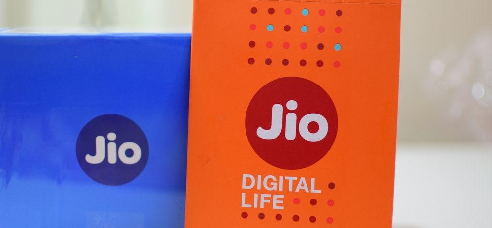 Reliance Jio SIM Card JioFi Router
