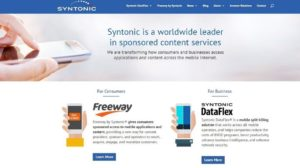 Syntonic Brings Free Mobile Internet Data in India in Partnership with Airtel, Vodafone and Idea