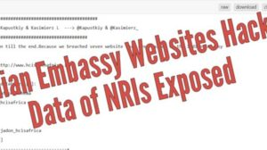 Netherlands Based Hackers Hack 7 Websites Of Indian Embassies; Data Of NRIs From South Africa, Libya, Italy, Switzerland, Malawi, Mali, Romania Exposed