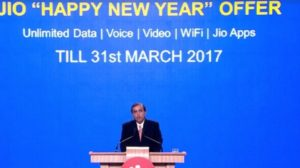 Reliance Jio Extends Free Voice, Data Benefits till March 2017 with Jio Happy New Year Offer