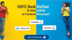 HDFC Unveils 'OnChat' Chatbot for Bill Payments, Mobile Recharge and Cab Booking Through Facebook Messenger